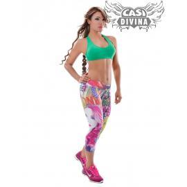 Conjunto Estampado Top Verde