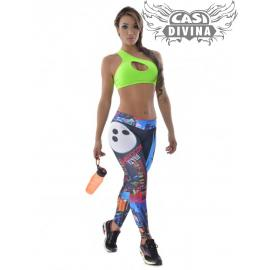 legging ciudad fit New York