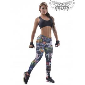 Legging Pitillo Cartoon Raton